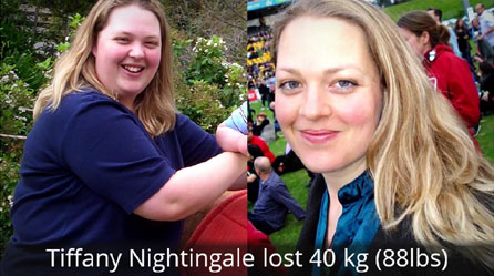 tiffany nightagle before and after