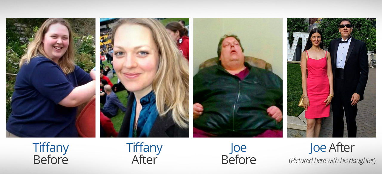 Joe and Tiffany - Before and After